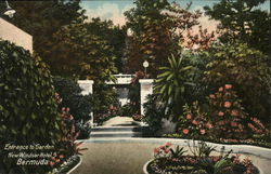 Entrance to Garden New Windsow Hotel Bermuda