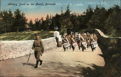 Military Band on the March, Bermuda