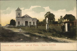 Church and Square, Isle of Pines