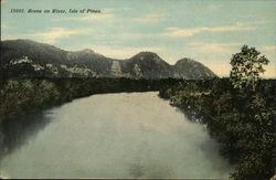 Scene on River, Isle of Pines