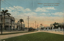Linea Street at Vedado