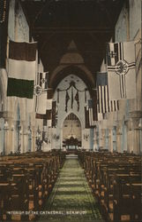 Interior of the Cathedral, Bermuda