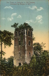 The Tower of Cathedral in Old Panama