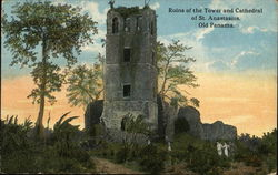 Ruins of the Tower and Cathedral of St. Anastasius, Panama Viejo