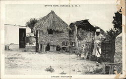 Native Huts, Curacao, N.W.I