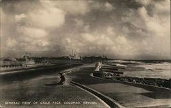 General View of Galle Face, Colombo, Ceylon