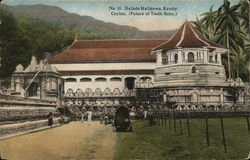 Dalada Maligawa, Kandy, Ceylon (Palace of Tooth Relic)