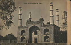 Gate of Sikanderia, Agra