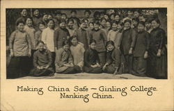 Making China Safe - Gingling College Nanking China