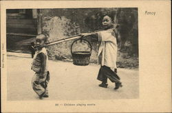Children playing coolie