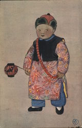 Painting of Chinese Boy