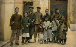 Group of Chinese Beggars