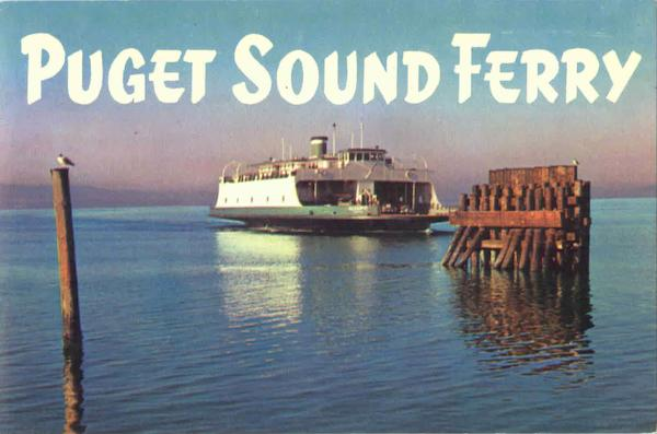 Puget Sound Ferry Washington