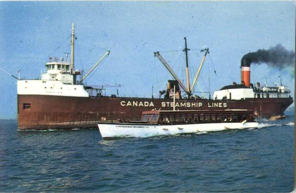 St. Lawrence River - Canada Steamship Lines Boats, Ships