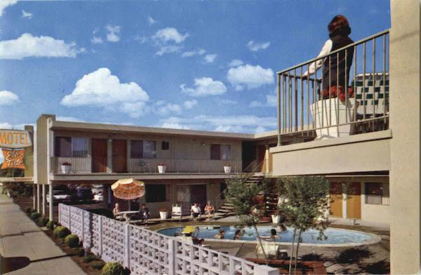 Ebbtide Motel Santa Cruz California