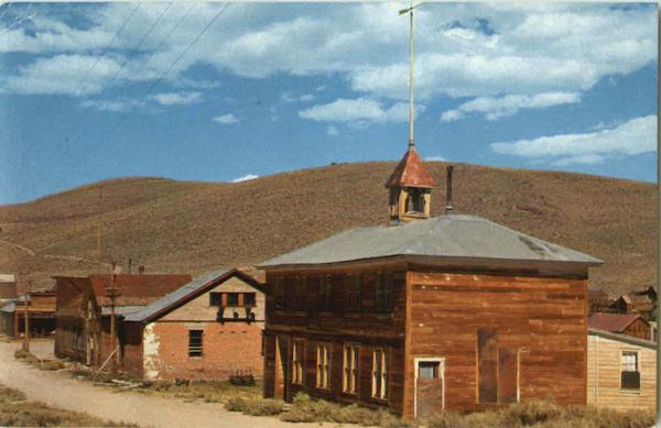 The Bodie School House California
