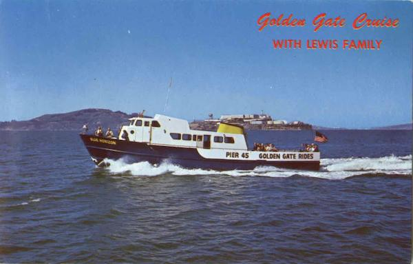Golden Gate Cruise With Lewis Family San Francisco California