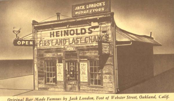 Original Bar Made Famous By Jack London, Webster Street Oakland California