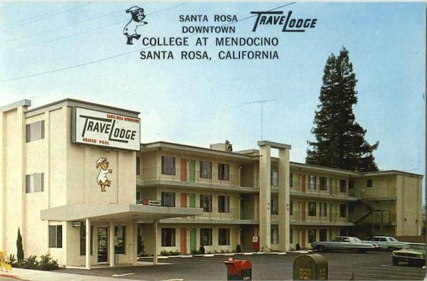 Santa Rosa Downtown College At Mendocino California