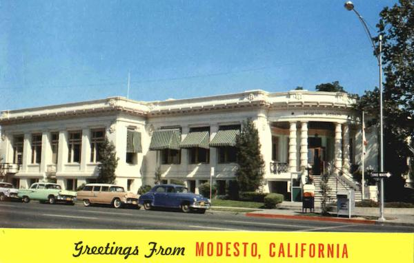 Greetings From Modesto California