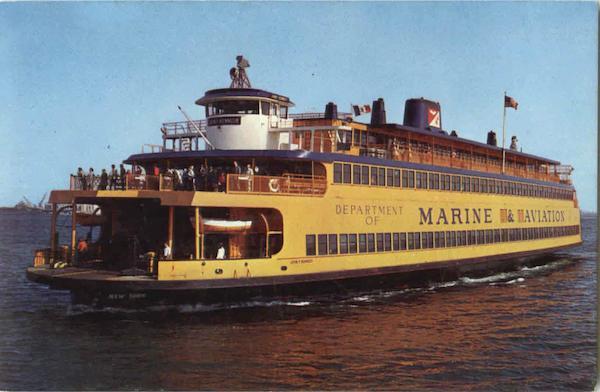 Staten Island Ferry Where Is It