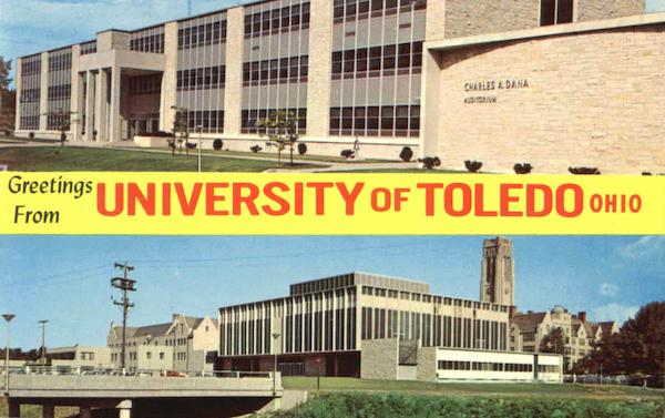 Greetings From University Of Toledo Ohio