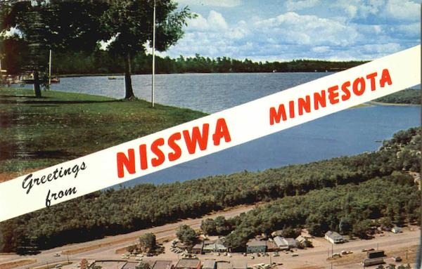 Greetings From Nisswa Minnesota