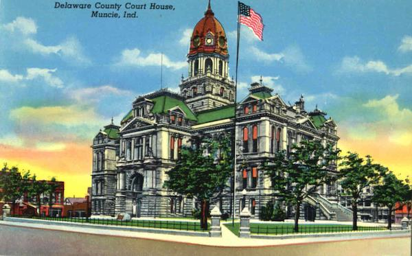 Delaware County Court House Muncie Indiana
