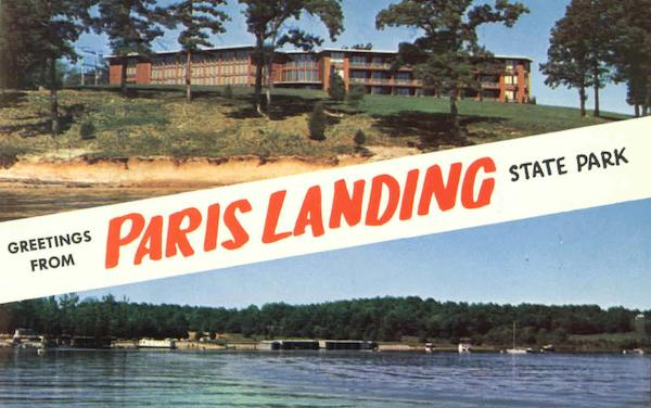 Greetings From Paris Landing State Park Buchanan Tennessee