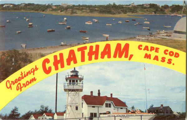 Greetings From Chatham Cape Cod Massachusetts