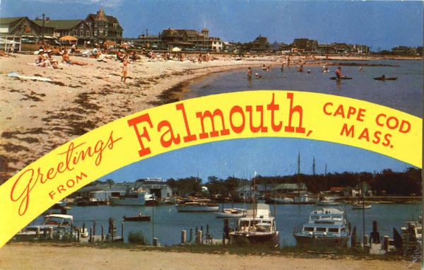 Greetings From Falmouth Cape Cod Massachusetts