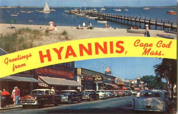 Greetings From Hyannis Cape Cod Massachusetts