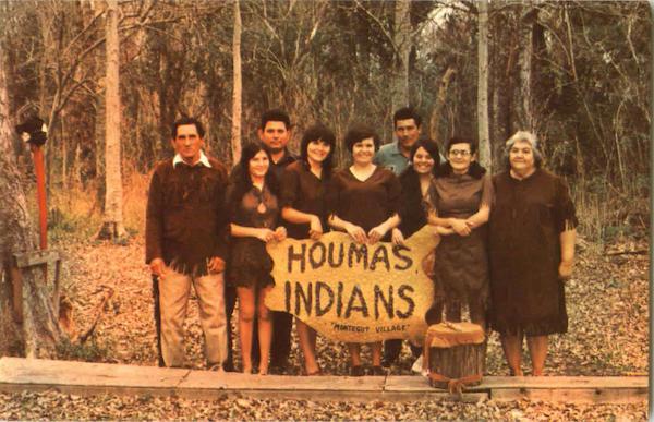 Houmas Indians Cajun Land Native Americana