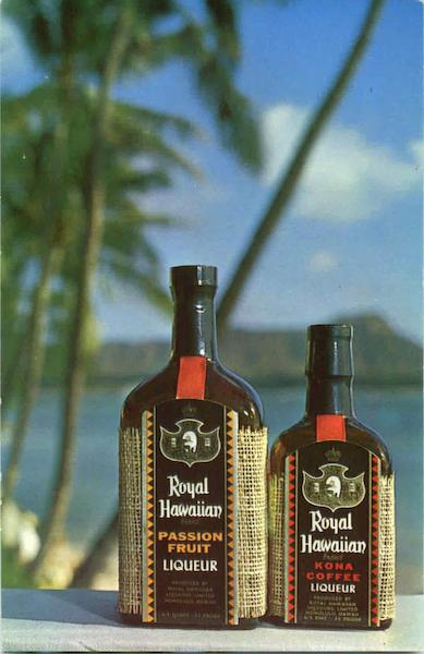 Royal Hawaiian Liqueurs Ltd, 736 Ilaniwai St. Honolulu