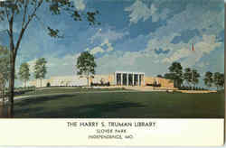 The Harry S. Truman Library, Slover Park Postcard