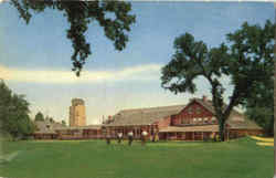 Del Paso Country Club Postcard