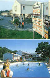 Hyannis Motel, Rt. 132 Postcard