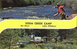 Soda Creek Camp Eel River
