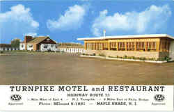 Turnpike Motel And Restaurant, Highway Route 73