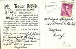Trader Dick's South sea Island Restaurant
