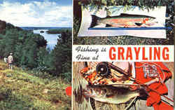 Fishing Is Fine At Grayling