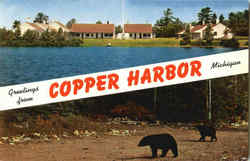 Greetings From Copper Harbor