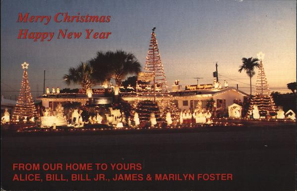 Merry Christmas and Happy New Year From the Fosters Hollywood Florida