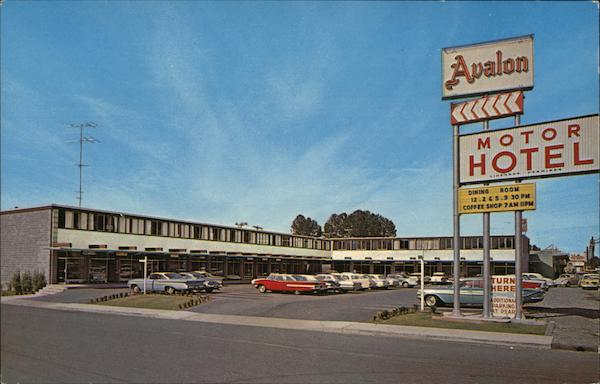 Avalon Motor Hotel North Vancouver Canada British Columbia