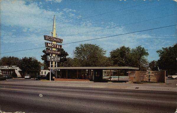 Bozeman's Motel and Restaurant Nashville Tennessee