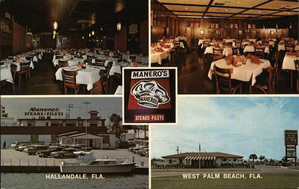 Manero's Restaurant Hallandale Florida Rod MacDonald
