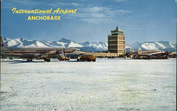 International Airport Anchorage Alaska Airports