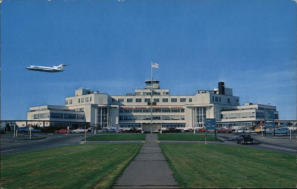 Seattle-Tacoma International Airport Washington Postcard