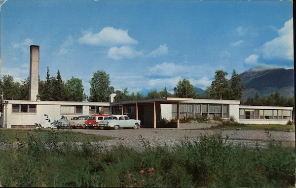 Valley Presbyterian Church Palmer, AK Postcard
