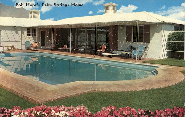 Bob Hope's Palm Springs Home California